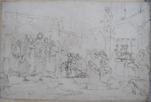 'Louis XI at St Chapelle, Paris' by Eyre Crowe (c.1855)