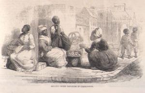 'Selling Sweet Potatoes in Charleston' by Eyre Crowe (1861)