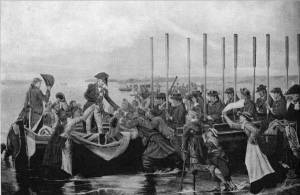 'Nelson Leaving England for the Last Time' by Eyre Crowe A.R.A. (1888)