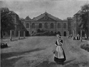 'Foundling Hospital' by Eyre Crowe A.R.A. (1894)
